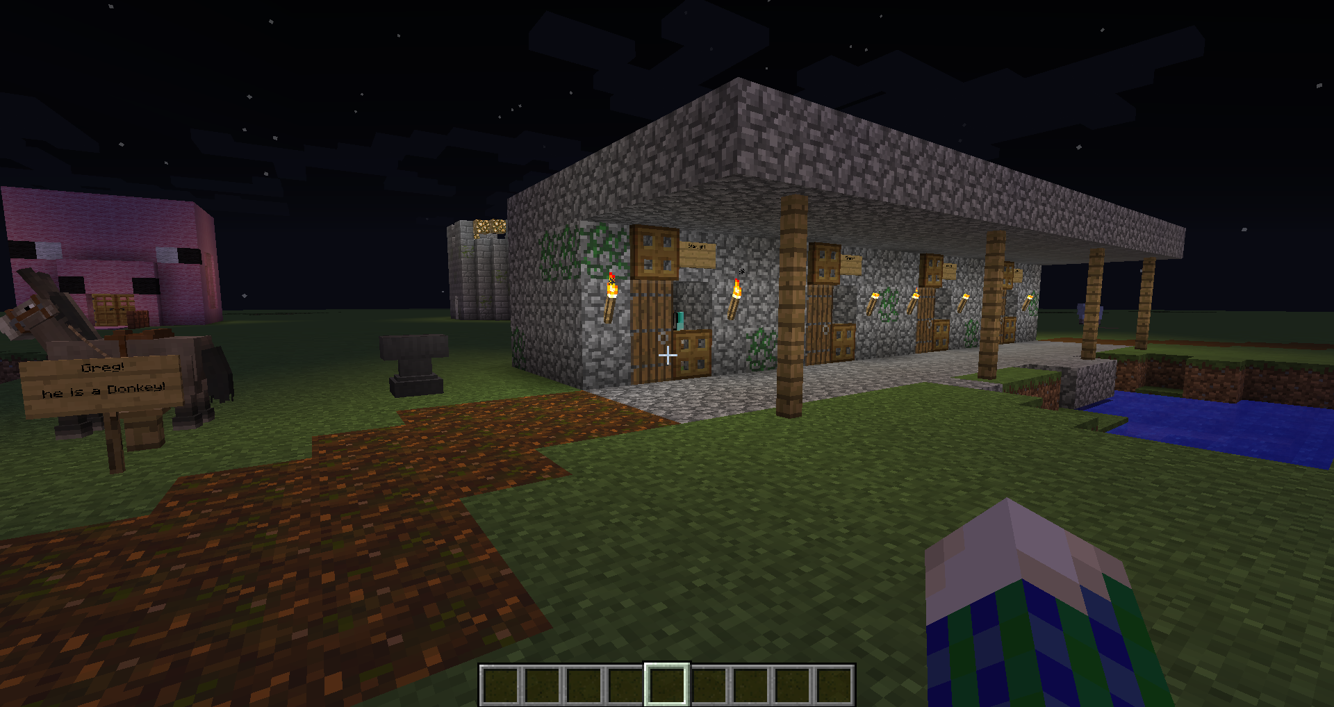How To Build A Horse Stable The only exception to this are skeleton horses and zombie horses. how to build a horse stable