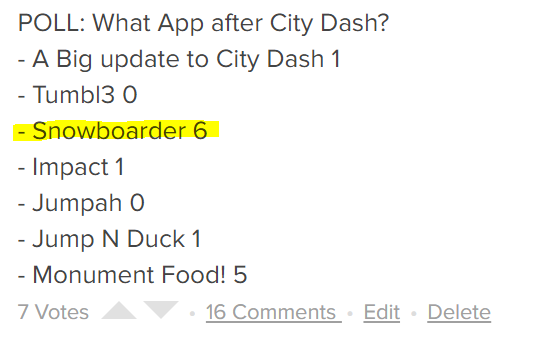 City Dash:  UPDATE #2:  Sneak Peeks on newstuff!