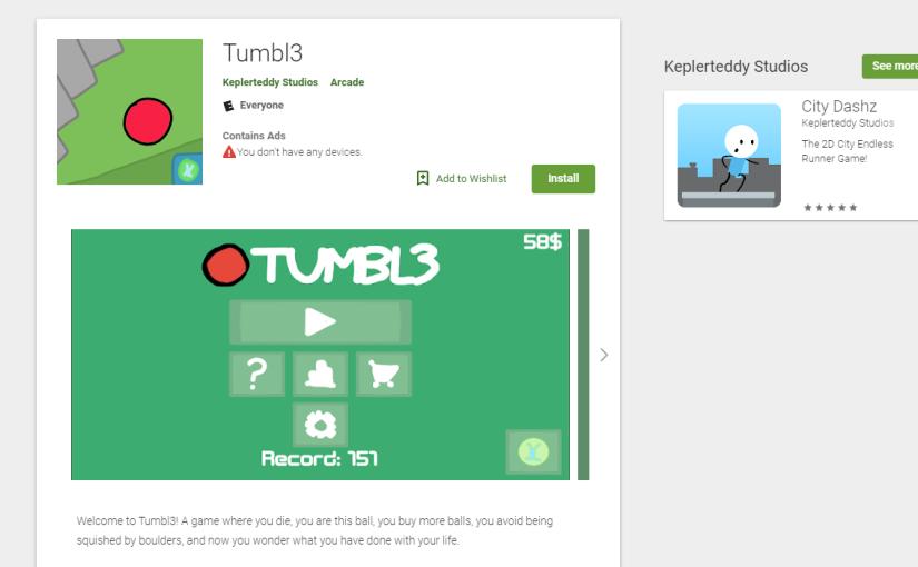 The Tumbl3 App isreleased!